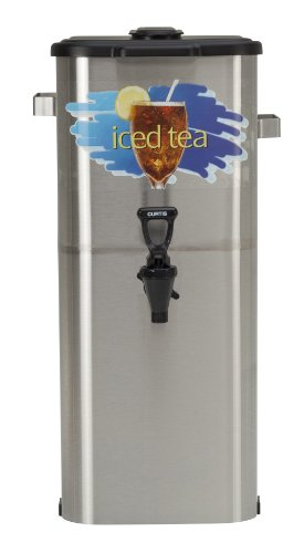 Wilbur Curtis Iced Tea Dispenser 4.0 Gallon Tea Dispenser, Oval 21″H – Designed to Preserve Flavor – TCO421A000 (Each)