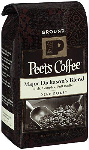 Peet's Ground Coffee, Major Dickason's, 12-Ounce