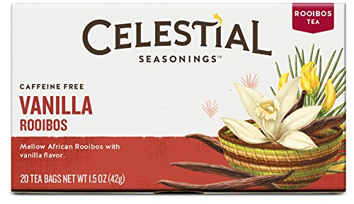 Celestial Seasonings Vanilla Rooibos Tea, 20 Count (Pack of 6)