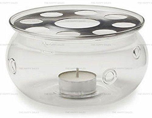 Happy Sales Glass Teapot Warmer Heat Proof High Quality Glass