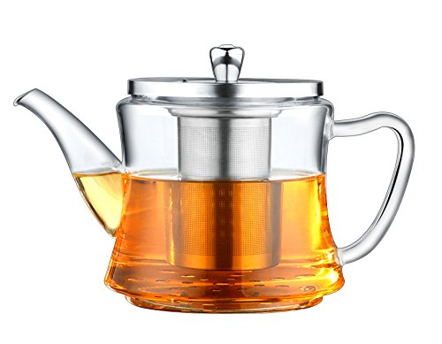 Multifunctional Glass Teapot: For Making Tea and Boiling Tea, Applicable for Electromagnetic Oven, Gas Stove, Electric Ceramic Cooker and Lightwave Oven