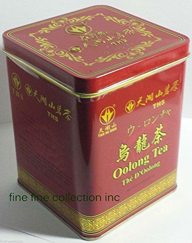 TIAN HU SHAN BRAND CHINA OOLONG loose leaf TEA 14 oz (400 g) TIN
