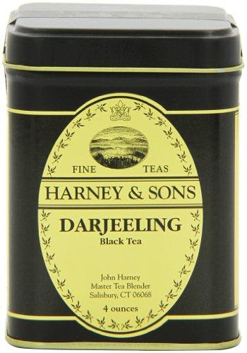 Harney & Sons Darjeeling Loose Leaf Tea, 4 Ounce Tin