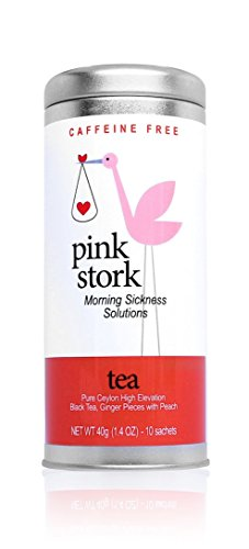 Pink Stork Tea – Organic Ginger Peach Tea for Morning Sickness Relief