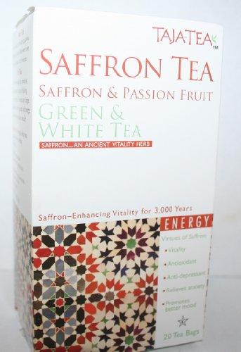 Saffron Tea Passion Fruit Green & White Tea