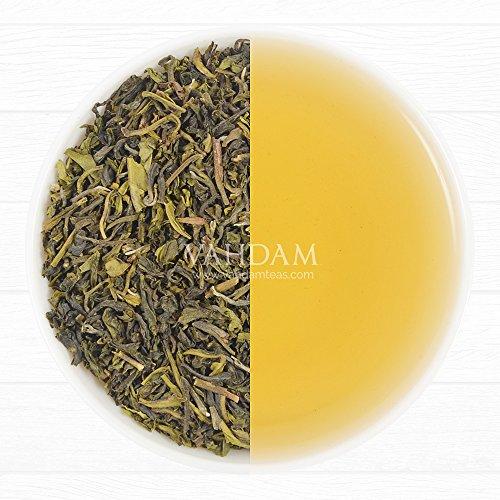 Organic Premium Green Tea, Healthy & Delicious, 100% Darjeeling Origin, 3.53oz /100gm (Makes 35-40 Cups)