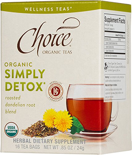 Choice Organic Teas Tea Bag, Simply Detox, 16 Count