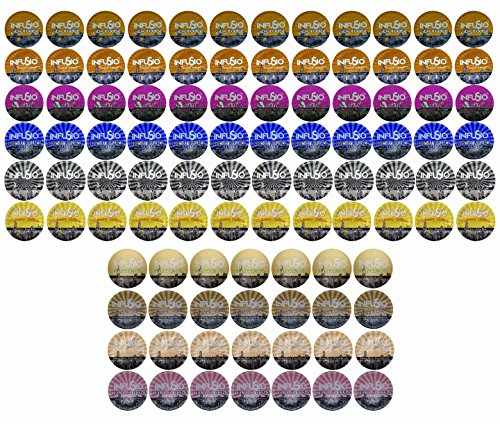 96 Count Variety (10 Amazing Blends), Single-serve Cups for Keurig K-cup® Brewers – Premium Roasted Coffee (Variety, 96)