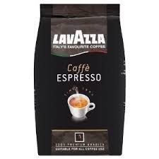 Lavazza Caffe Espresso 100% Premium Arabic Whole Bean Coffee (2.2 lbs)