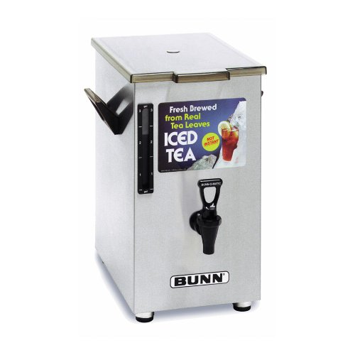 BUNN 3250.0003 TD4 Iced Tea Dispenser with Solid Lid