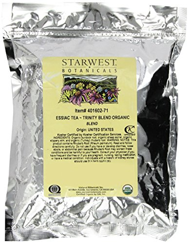 Essiac Tea Organic – Trinity Blend 1lb