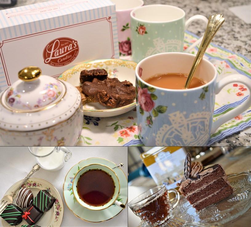 Tea and desserts