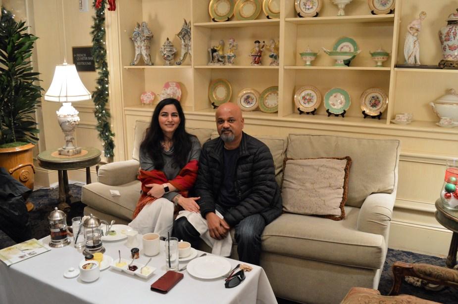 tea at davenport lounge