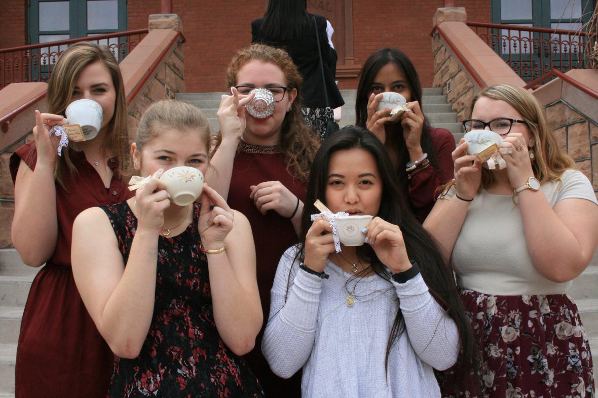 ladies' tea party