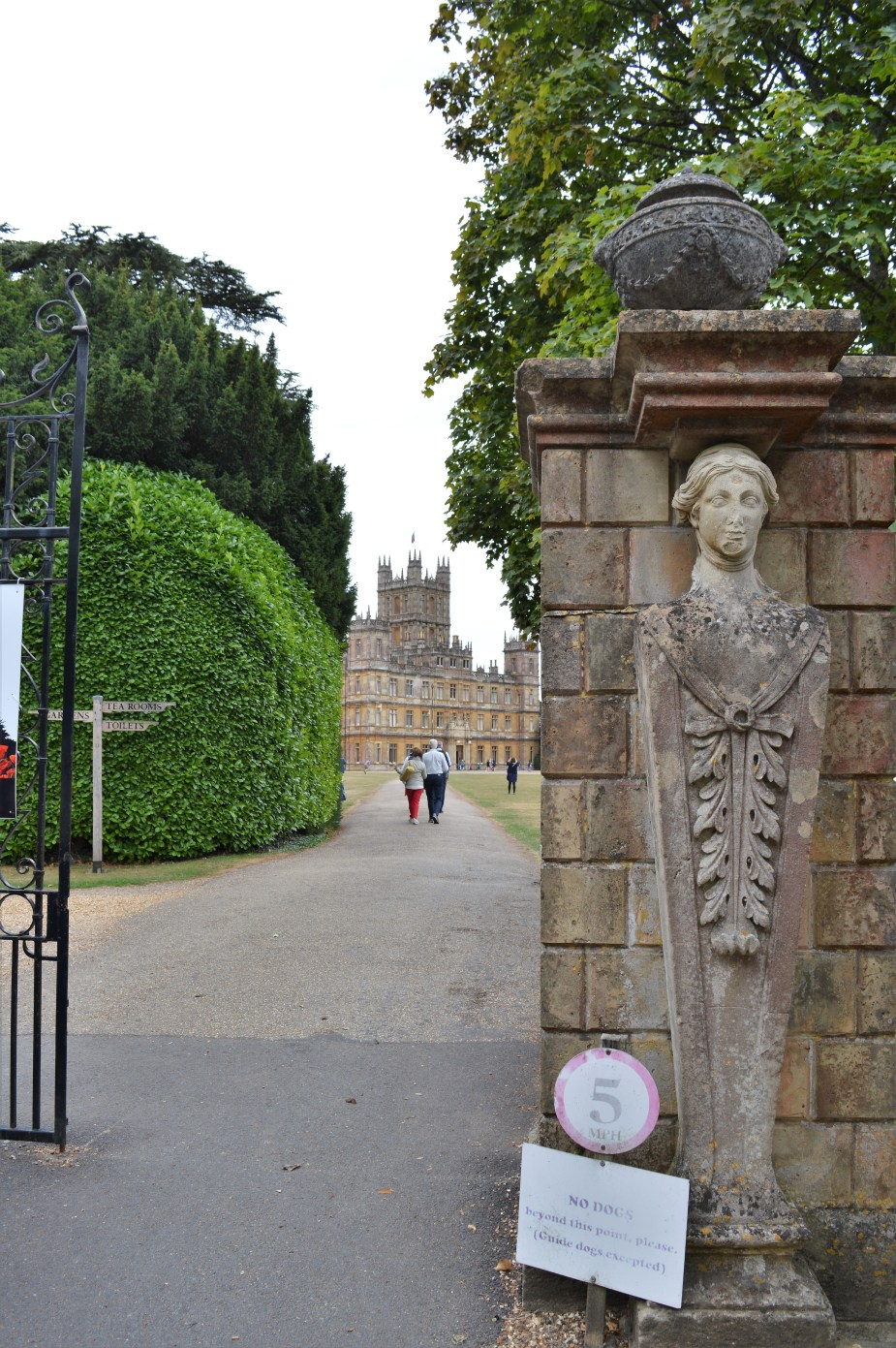 Downton Abbey Entrance