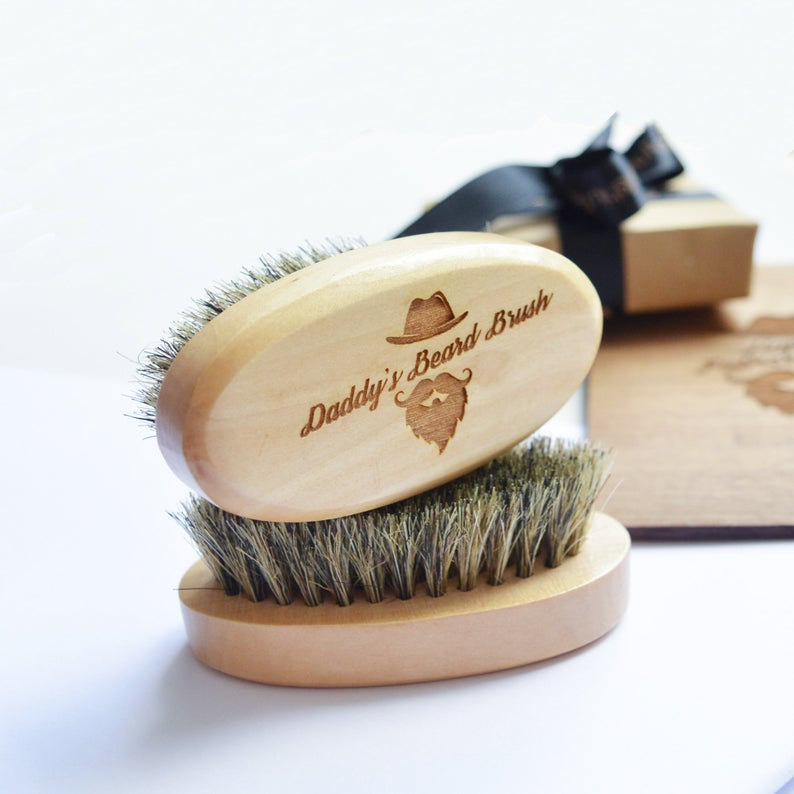 Father's Day Beard Brush Gift
