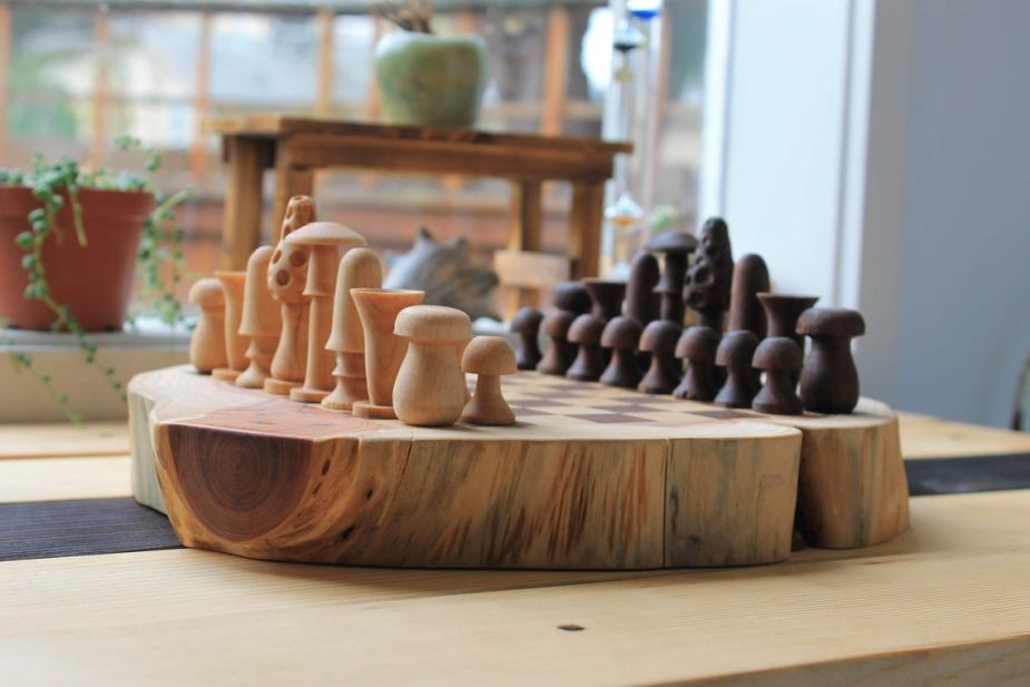 Father's Day Chess Gift Set