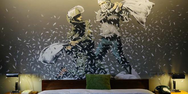 Banksy's 'The Walled-Off Hotel'