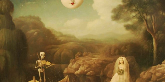 Haunting Paintings by Stephen Mackey