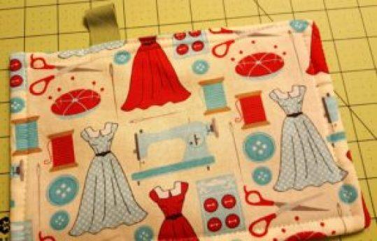 12-tab sewn on