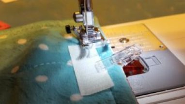 18-sewing on velcro