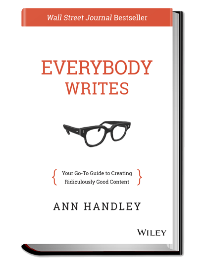 Book Review of Everybody Writes, by Ann Handley