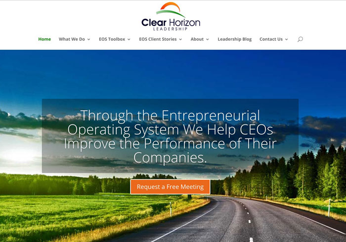 Clear Horizon Leadership website