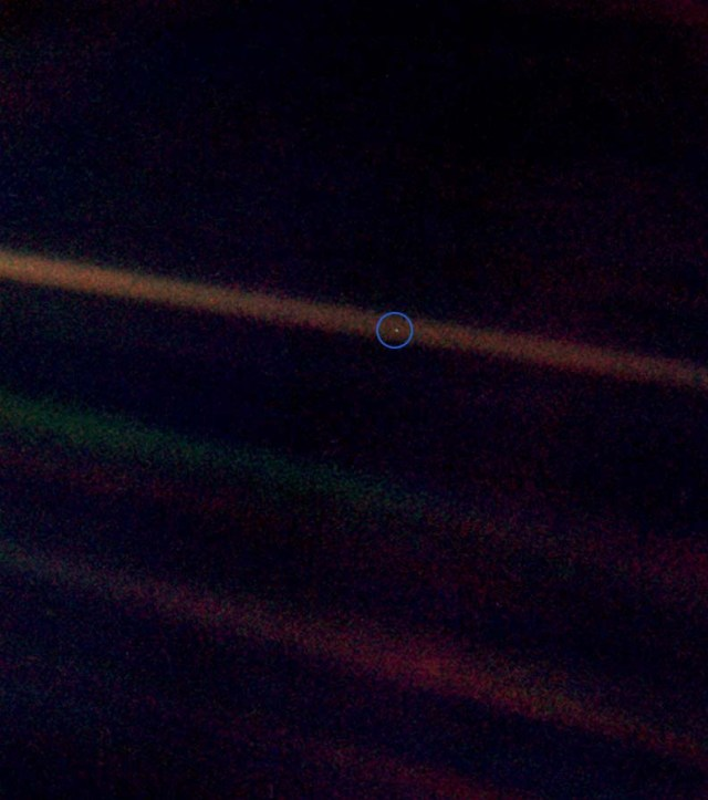 Postcard from Raymond: Pale Blue Dot