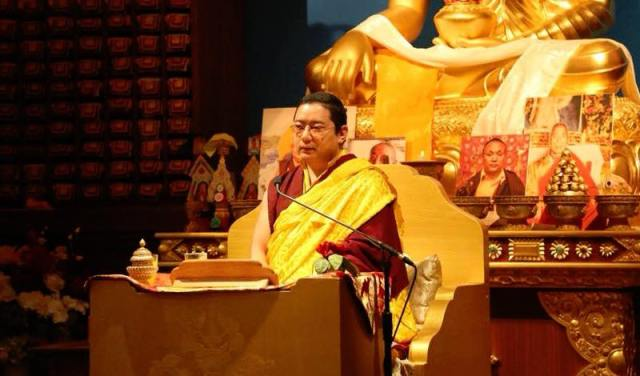 Khamtrul Rinpoche: Living a Blessed Life