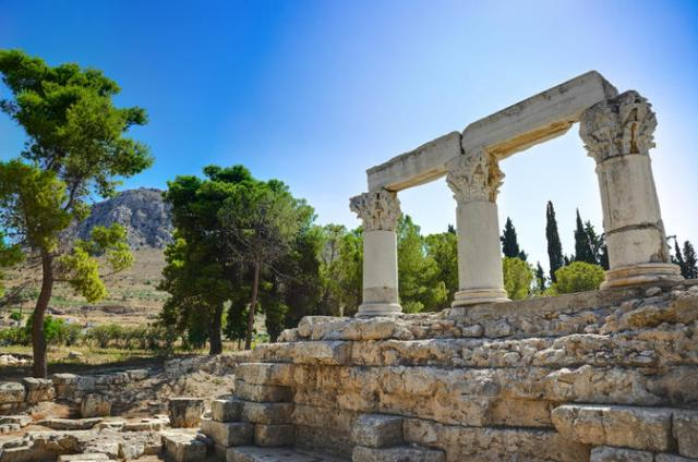 The Spiral Staircases of Corinth