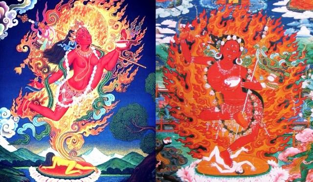 Maitridakini and Indradakini