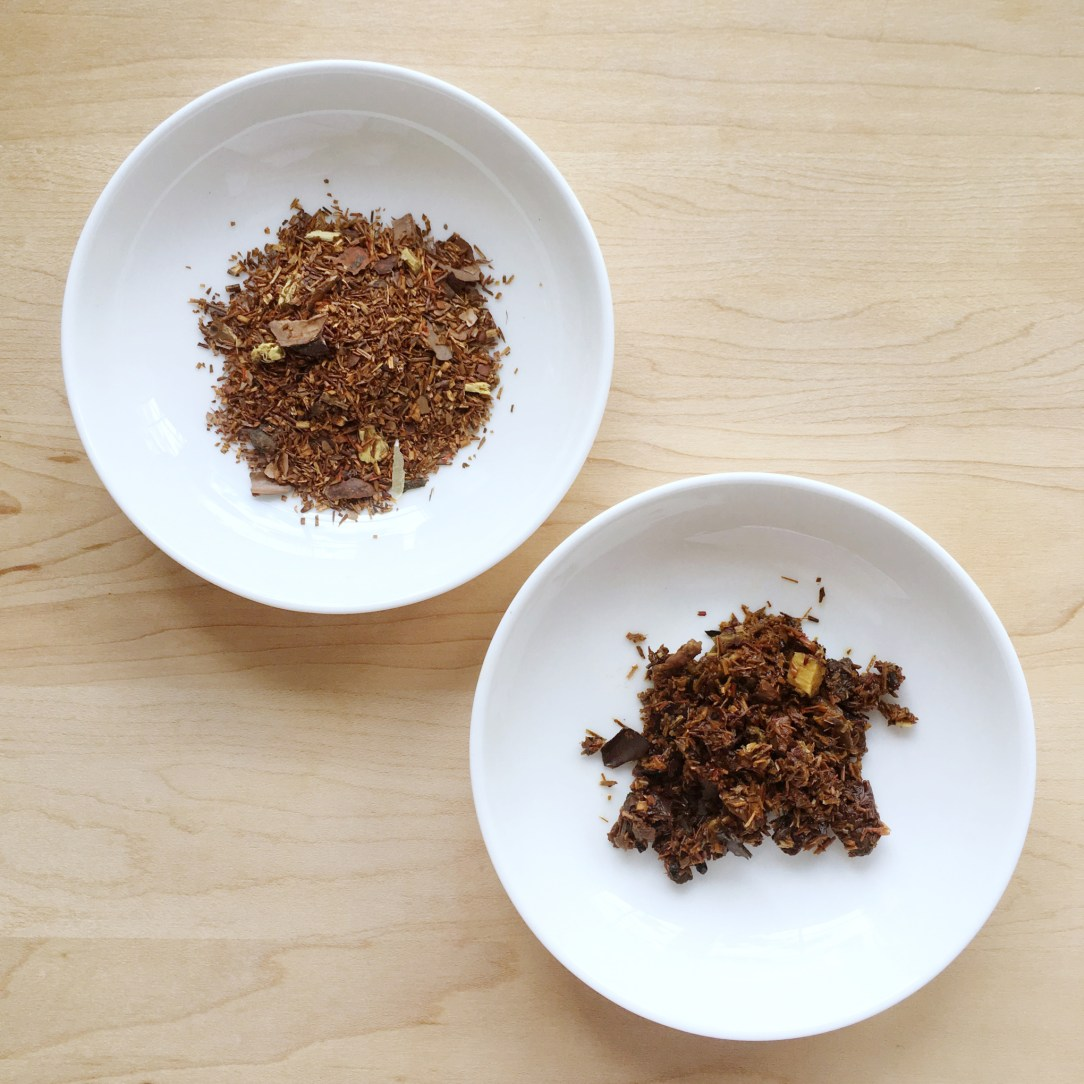 Pluck Tea Canadian Maple Rooibos Tea Dishes