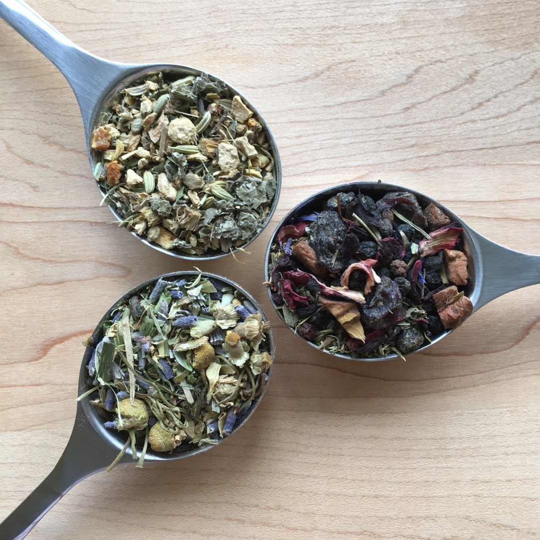 Urbal Tea Spoons Herbal Teas