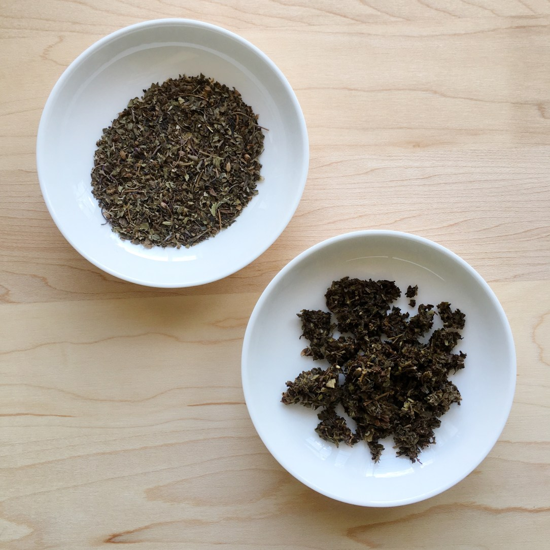 Teabox Tulsi Green Chai Green Tea Dishes