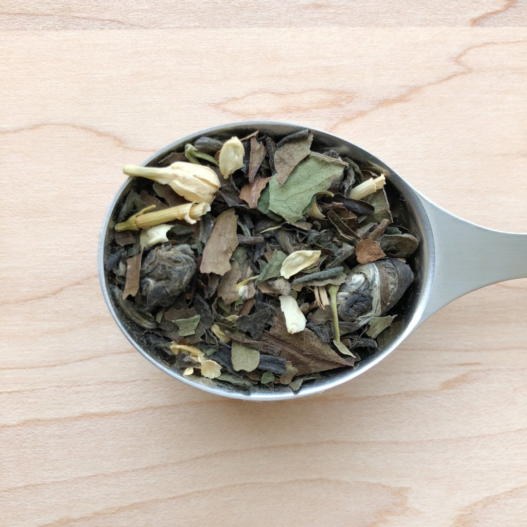 Petali Teas Moonlight Jasmine White green tea Spoon