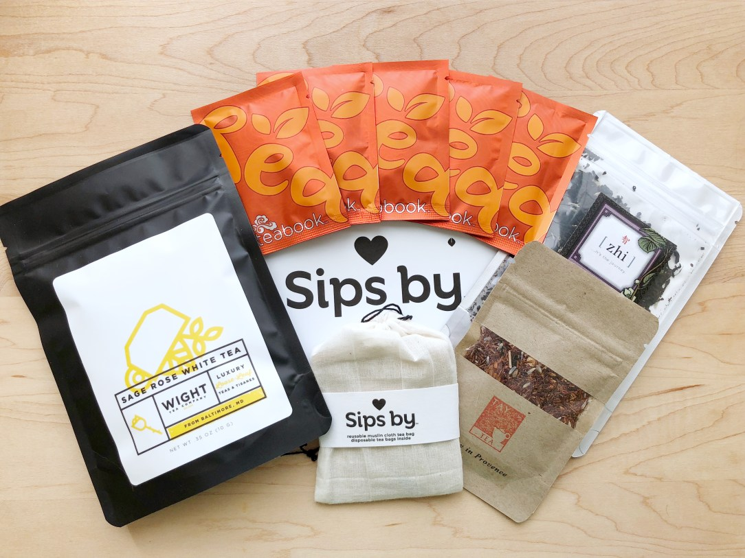 Sips by Tea Packaging