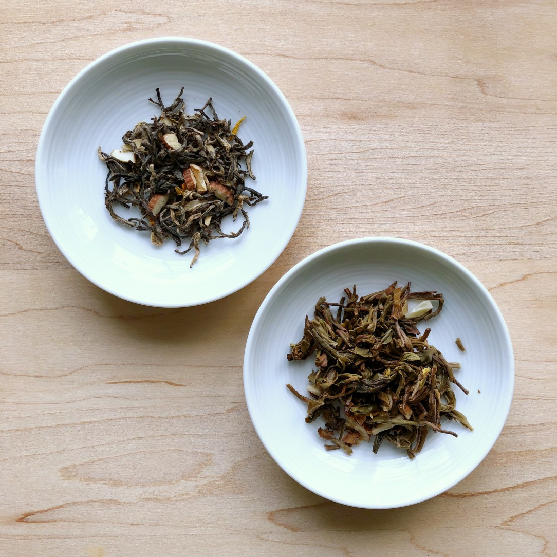 Teabox Indian Marigold Tea Oolong Tea Dishes