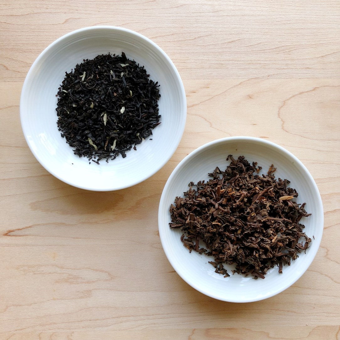 Zhi Coconut Assam Black Tea Dishes