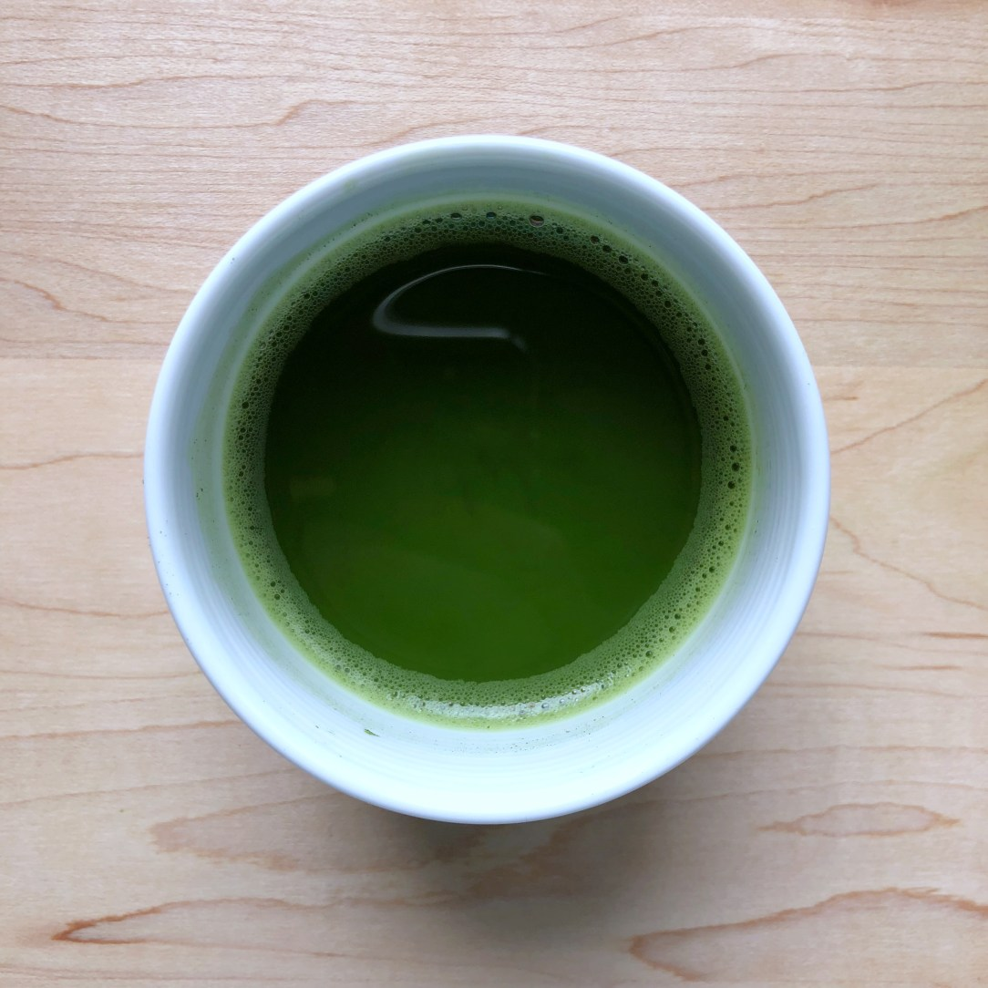 Ippodo Tea Co. Ummon no mukashi Green Tea Matcha Cup