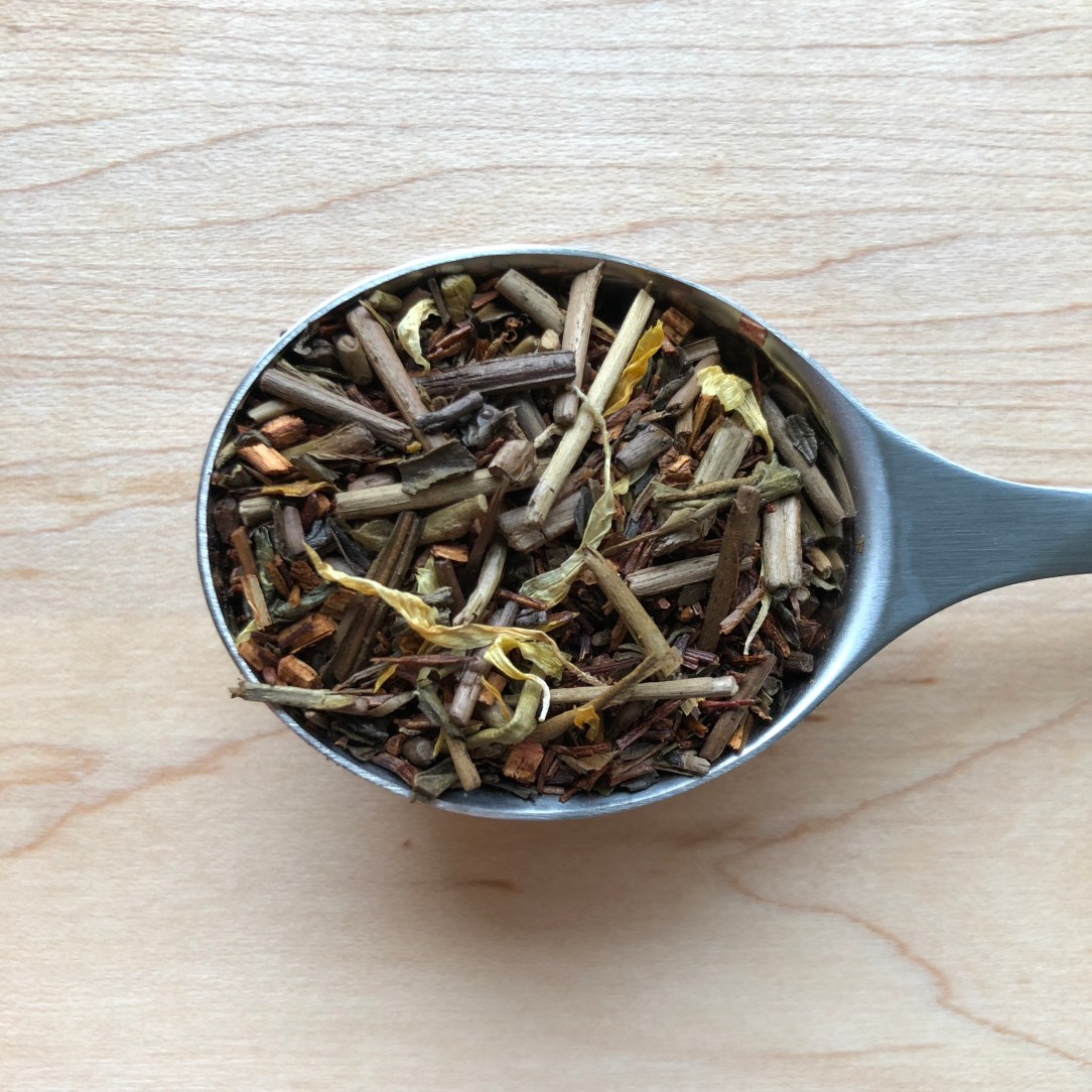 Amoda Tea Roasted Peach Rooibos Green Tea Spoon