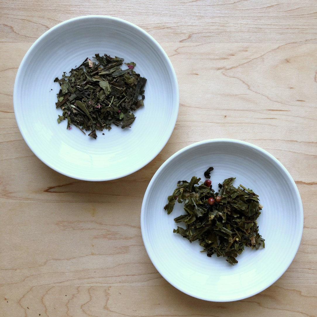 Amoda Tea Aromatica Fine Teas Winter Solstice Green Tea White Tea Dishes