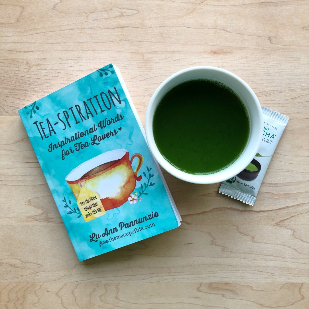 Tea-spiration Book and Encha Matcha