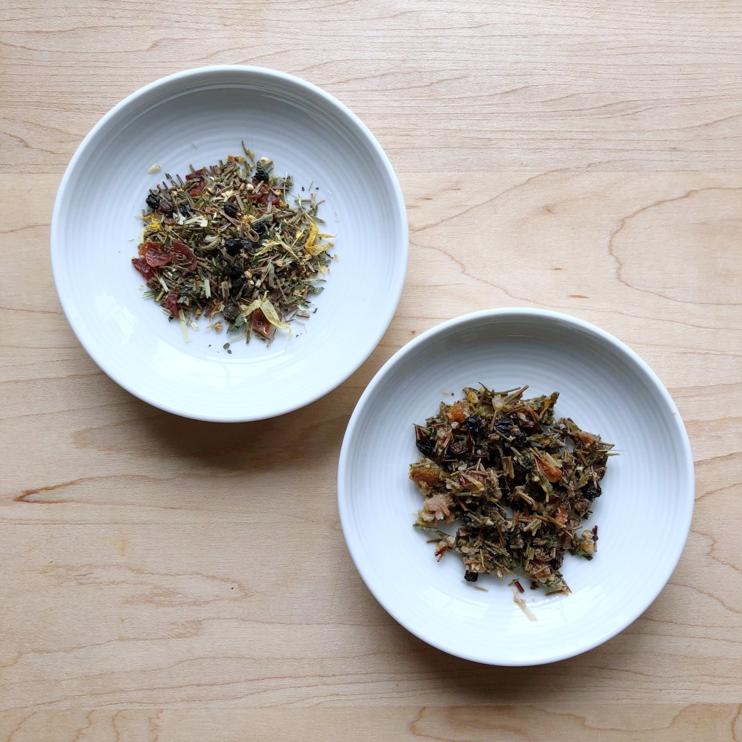 The Honest Leaf Nourish Herbal Tea Dishes