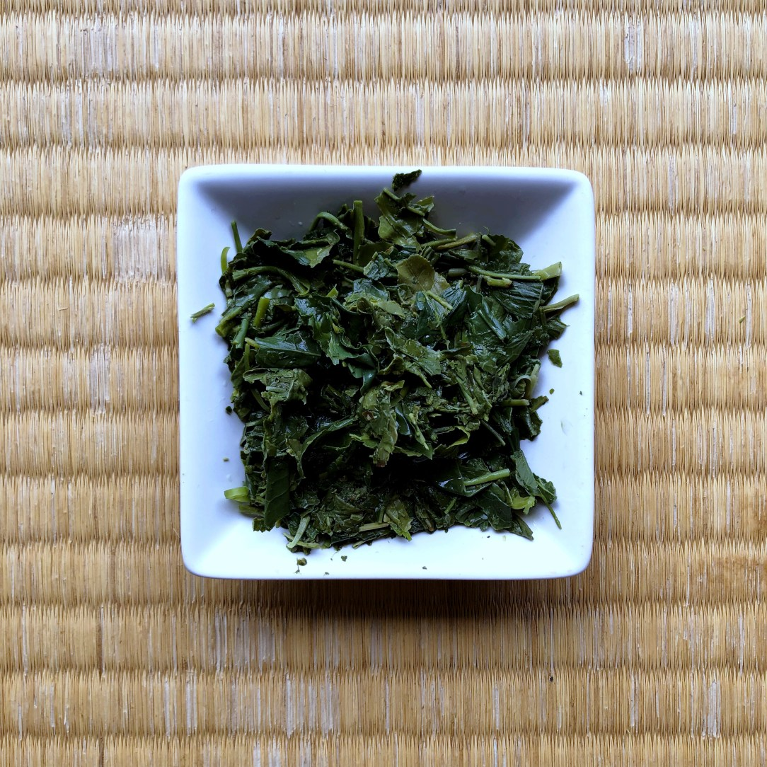 Obubu Tea Heavenly Drop Gyokuro Green Tea Wet