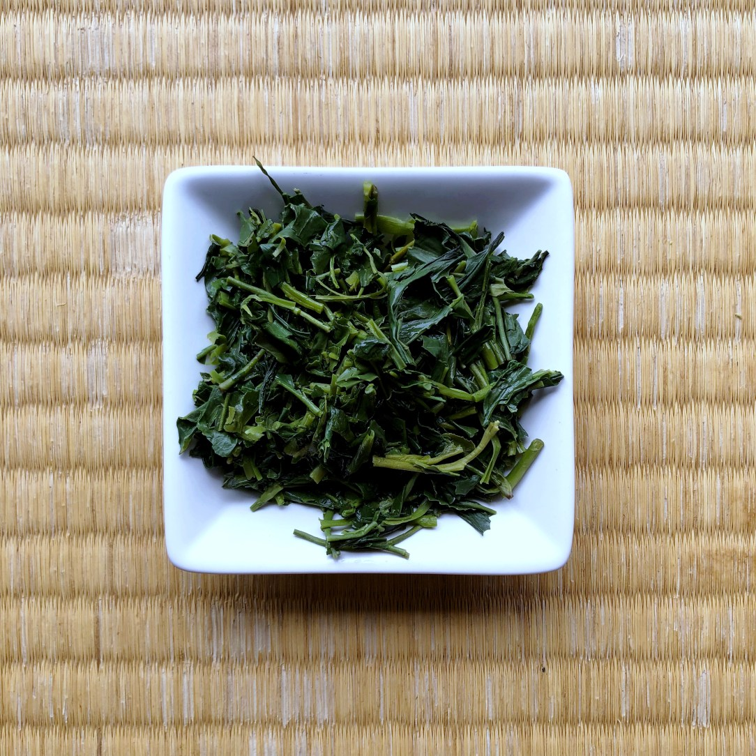 Obubu Tea Kabuse Sencha Green Tea Wet