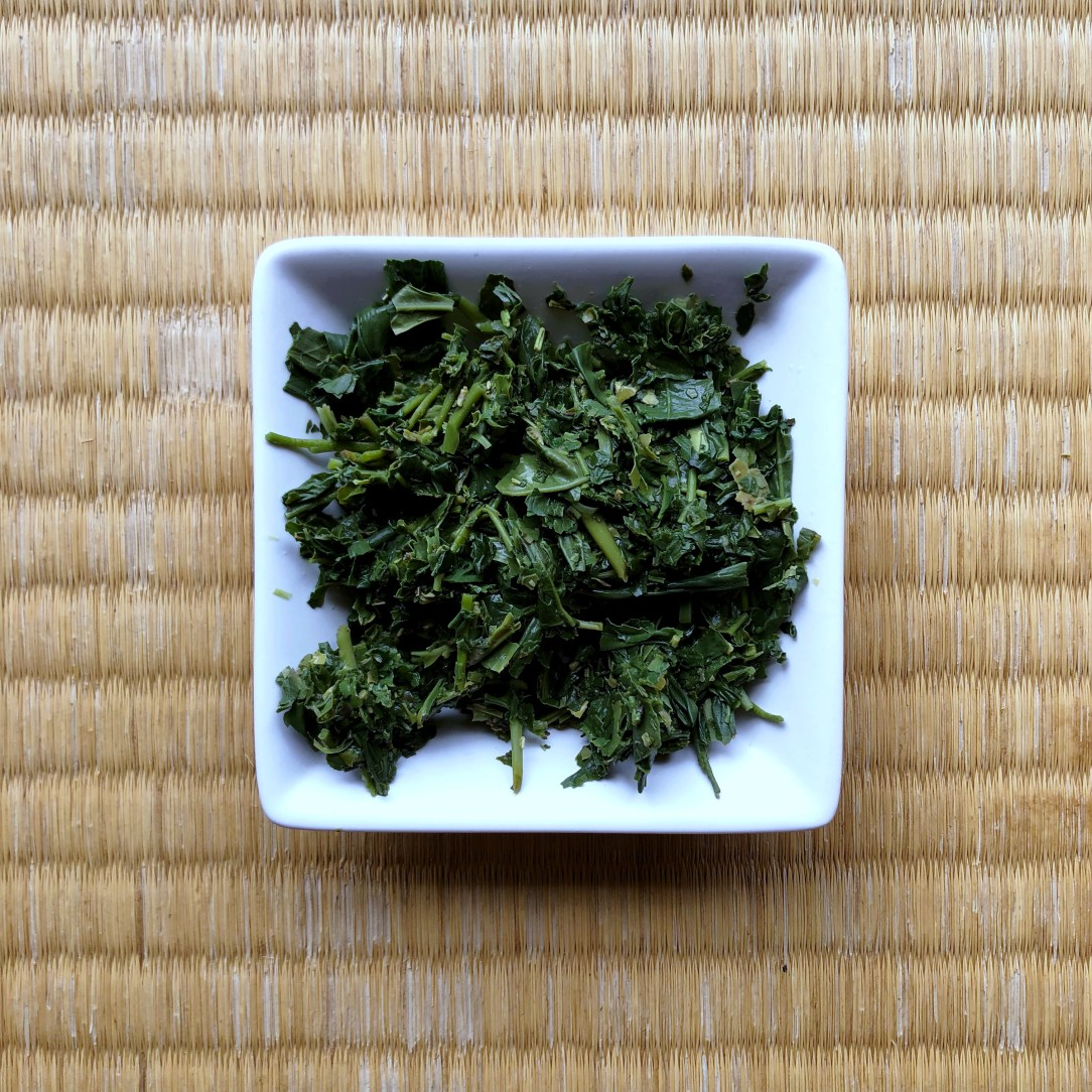 Obubu Tea Sencha of the Wind Green Tea Wet