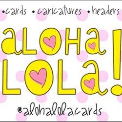 Aloha Lola Cards