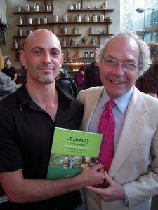 Jesse Jacobs and James Norwood Pratt, author of the Ultimate Tea Lover's Treasury