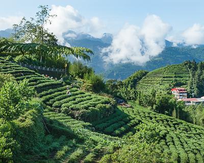 Shizhao, Taiwan in the morning