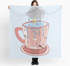 Storm in a tea cup scarf